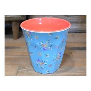 ライス タンブラーカップ 小花 ライトブルー コップ rice colors-kitchen 02