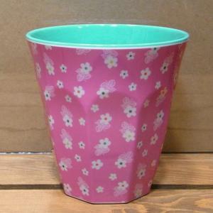 ライス タンブラーカップ ミニフラワー ピンク rice|colors-kitchen