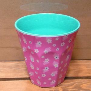 ライス タンブラーカップ ミニフラワー ピンク rice|colors-kitchen|02