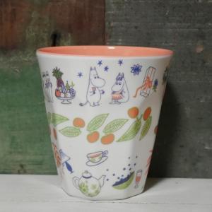 ムーミン メラミンカップ ボーダー タンブラー|colors-kitchen