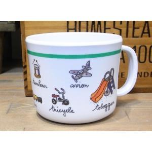 ラシェーズロング ハンドル付きカップ ロボ マグカップ|colors-kitchen