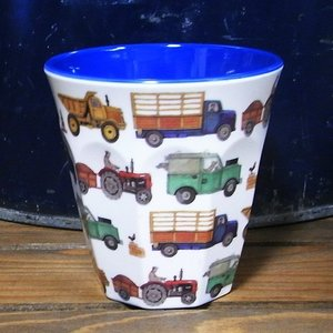 エマブリッジウォーター タンブラーカップ トラック コップ メラミンカップ|colors-kitchen