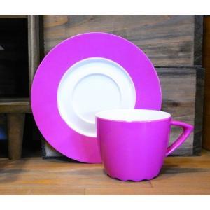 ロスティメパル カップ&ソーサー ピンク|colors-kitchen
