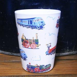 キャスキッドソン タンブラーカップ トレイン コップ Cath Kidston|colors-kitchen