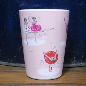 キャスキッドソン タンブラーカップ バレリーナ コップ Cath Kidston|colors-kitchen