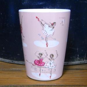 キャスキッドソン タンブラーカップ バレリーナ コップ Cath Kidston|colors-kitchen|02