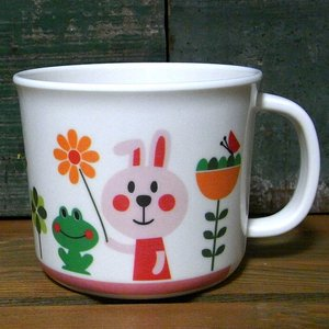 DECOLE デコレ マグカップ コップ aurinko アウリンコ うさぎ メラミン食器|colors-kitchen
