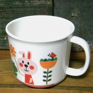 DECOLE デコレ マグカップ コップ aurinko アウリンコ うさぎ メラミン食器 colors-kitchen 02