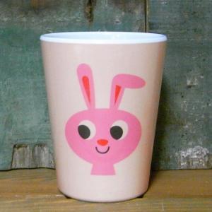 メラミンタンブラー ウサギ OMM-design メラミンカップ Rabbit|colors-kitchen