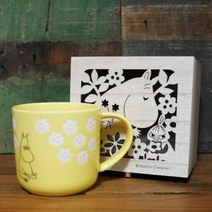 ムーミン マグカップ フローリット 木箱入りマグ MOOMIN|colors-kitchen