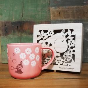 ムーミン マグカップ フローリット リトルミイ 木箱入りマグ MOOMIN|colors-kitchen