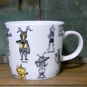 ウルトラマン マグカップ Shinzi Katoh ウルトラモンスターズ オールスター|colors-kitchen