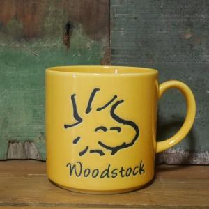スヌーピー マグカップ フェイスマグ ウッドストック|colors-kitchen