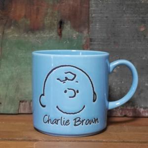 スヌーピー マグカップ フェイスマグ チャーリーブラウン|colors-kitchen