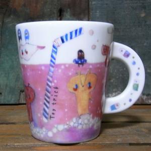 TOY TRICK マグカップ ピンクのサイダー コップ colors-kitchen