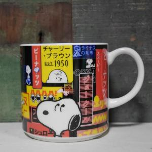スヌーピー マグカップ カタカナ マグ SNOOPY コップ|colors-kitchen