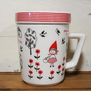 マグカップ ノスタルジックメモリー Shinzi Katoh ふた付きマグ 赤ずきん|colors-kitchen