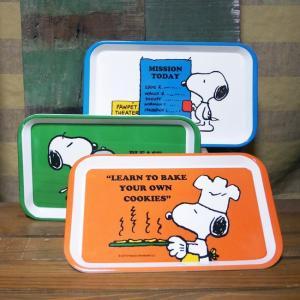 スヌーピー メラミントレイ お盆 colors-kitchen