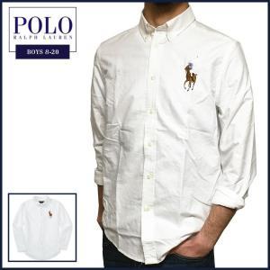 ラルフローレン 長袖シャツ Polo Ralph Lauren ビッグポニー 刺繍 オックスフォード...