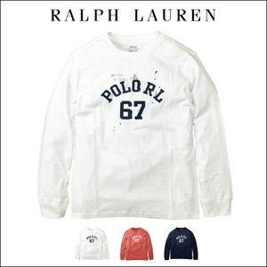 ■アイテム名 ポロ ラルフローレン 長袖 Tシャツ プリント Polo Ralph Lauren C...