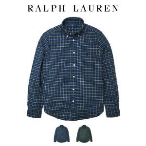 ■アイテム名 ポロ ラルフローレン 長袖 シャツ ツイル チェック Polo Ralph Laure...