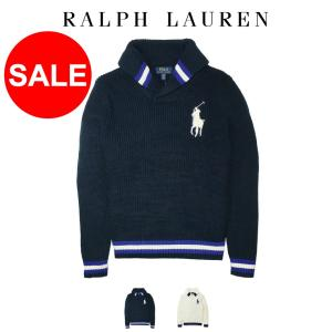 ■アイテム名 ポロ ラルフローレン ニット セーター ショールカラー Polo Ralph Laur...