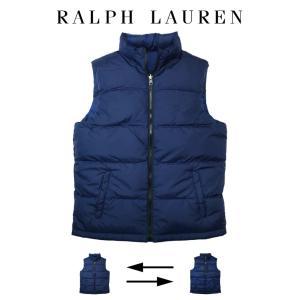ポロ ラルフローレン ダウン ベスト リバーシブル Polo Ralph Lauren ボーイズ B...