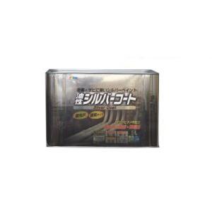 [Y] アサヒペン 油性 シルバーコート [5L] アルミニウムペイント(銀) シルバーペイント 銀ペン 門扉 シャッター 機械器具 鉄製品 油性塗料 colour-harmony