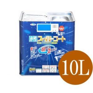 ■商品名…水性 スーパーコート 10L ■内容…10L ■特徴 ・色数は20色! ・ツヤあり色はエナ...