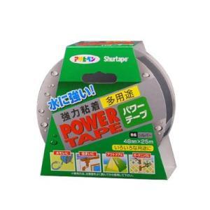 [Y] アサヒペン パワーテープ [48mm×10m] 粘着性・防水・漏水・ホース・補修・樋・テント|colour-harmony