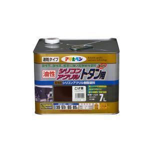 送料無料 アサヒペン 油性シリコンアクリルトタン用 7L 屋根 トタン ひさし シリコン 速乾|colour-harmony