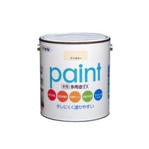 [Y] アサヒペン 水性多用途EX [1.6L] アサヒペン、コンクリオート、モルタル、ブロック、フェンス、看板など。水性アクリル樹脂塗料