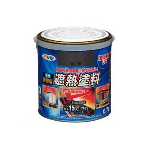 ■商品名…アサヒペン 水性屋根用遮熱塗料 ■サイズ…[0.7L] ■特長…特殊顔料により太陽光の赤外...