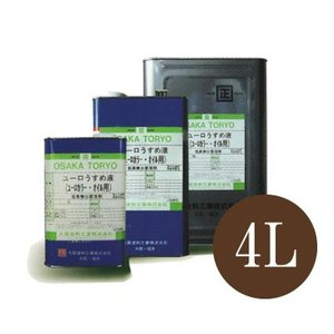 [Y] 大阪塗料 ユーロうすめ液 (euro) [4L] 大阪塗料・ユーロ専用希釈剤・うすめ液・シンナー・用具洗浄用|colour-harmony