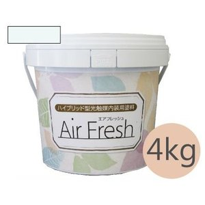 [Y] イサム AirFresh (エアフレッシュ) Shiro〜白のやさしさ〜 NO.008アクアミスト [4kg]|colour-harmony
