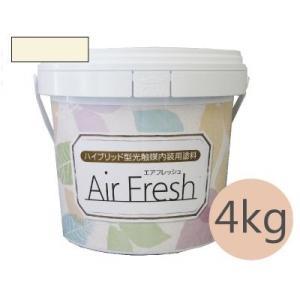 [Y] イサム AirFresh (エアフレッシュ) Shiro〜白のやさしさ〜 NO.009バニラホワイト [4kg]|colour-harmony
