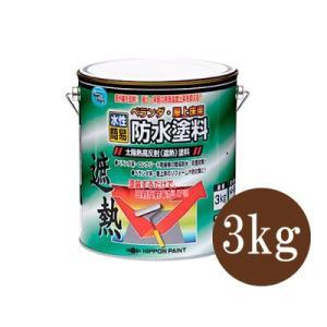 [Y] ニッペ 水性ベランダ・屋上床用防水塗料 クールライトグレー(全3色) [3kg]|colour-harmony
