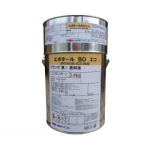 [Y] ニッペ エポタールBOエコ [4kgセット] 日本ペイント・コールタール・配管・海水・防食・耐水・耐塩水・|colour-harmony