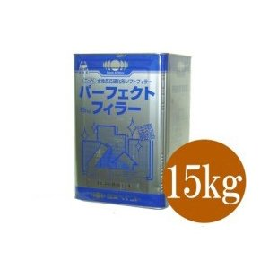 [Y] ニッペ パーフェクトフィラー [15kg] 日本ペイント・サイディング・モルタル・コンクリート用下塗り