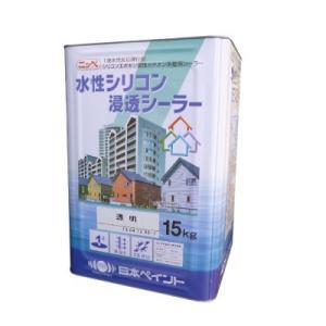 [Y] 【送料無料】 ニッペ 水性シリコン浸透シーラー [15kg] 日本ペイント・外壁・戸建・下塗り・カチオン・エポキシ