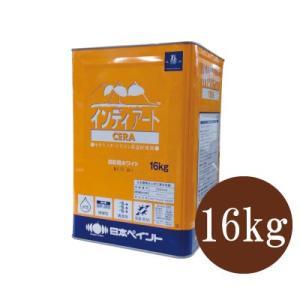 [Y] ニッペ インディアートCERA 淡彩用ホワイト [16kg]  日本ペイント・意匠塗材・防藻・防かび|colour-harmony