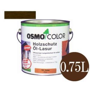 [Y] オスモカラー ウッドステインプロテクター #707 ウォルナット 半透明着色ツヤ消し [0.75L] osmo・屋外木部・防腐・防藻・防かび・撥水|colour-harmony