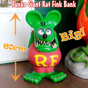 RAT FINK ラットフィンク・24インチビッグバンク(グリーン)|colour