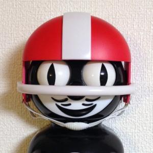 Kit-Cat キットキャットクロック用ヘルメット:レッド /時計オプションパーツ/インテリア/アメリカン雑貨/
