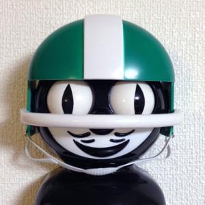 Kit-Cat キットキャットクロック用ヘルメット:グリーン /時計オプションパーツ/インテリア/アメリカン雑貨/