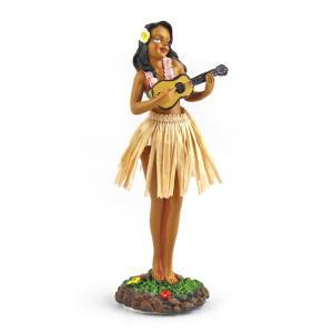 ダッシュボード フラドール ウクレレ 40625 KC HAWAII 人形 お土産 ハワイアン雑貨 アメリカ雑貨 colour