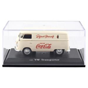 ミニカー コカコーラ ダイキャストミニカー 1962 VW ガーゴバン クリーム 1/43 PJ-M...