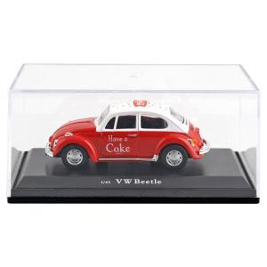 『ミニカー コカコーラ ダイキャストミニカー 1966 VW ビートル レッド 1/43 PJ-MC...