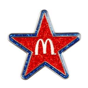 ピンズ マクドナルド ピンズ 「STAR」 星型 #25 McDonald's ピンバッジ アクセサリー コレクション アメリカ雑貨 アメリカン雑貨
