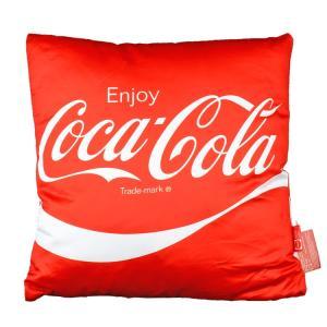 コカ・コーラ クッション レッド Enjoy Coca-Cola! 36×36cm COCA-COLA インテリア アメリカ雑貨|colour
